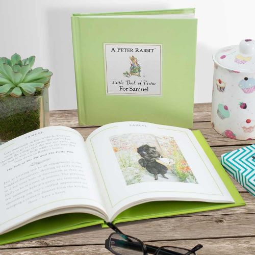 Peter Rabbits Personalised Little Book of Virtue